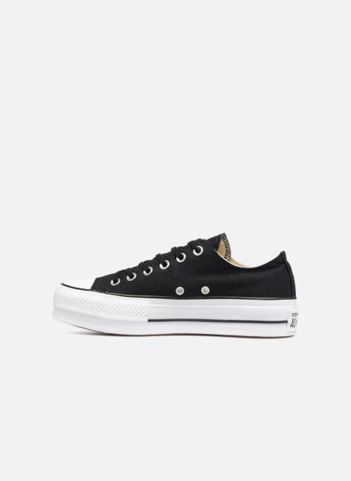Sneakers Converse Chuck Taylor Lift Ox Nero immagine frontale