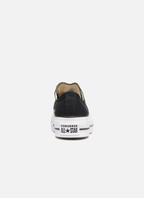 Trainers Converse Chuck Taylor Lift Ox Black view from the right