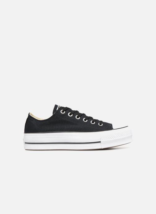 Sneakers Converse Chuck Taylor Lift Ox Zwart achterkant