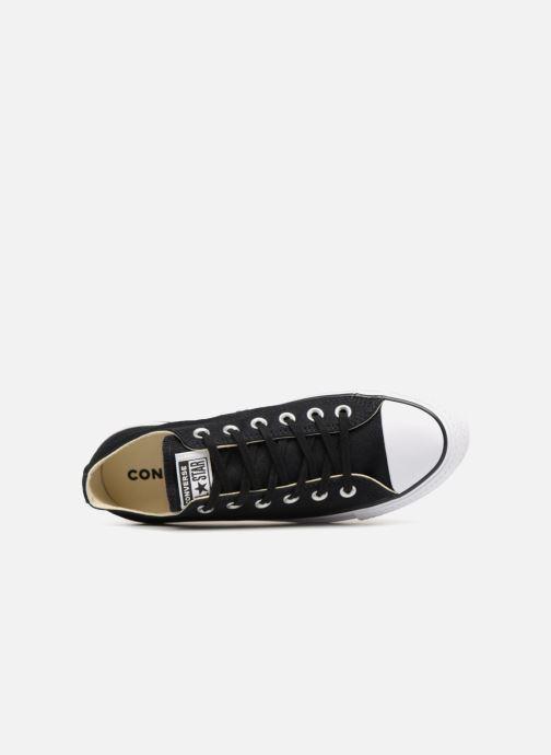 Sneaker Converse Chuck Taylor Lift Ox schwarz ansicht von links