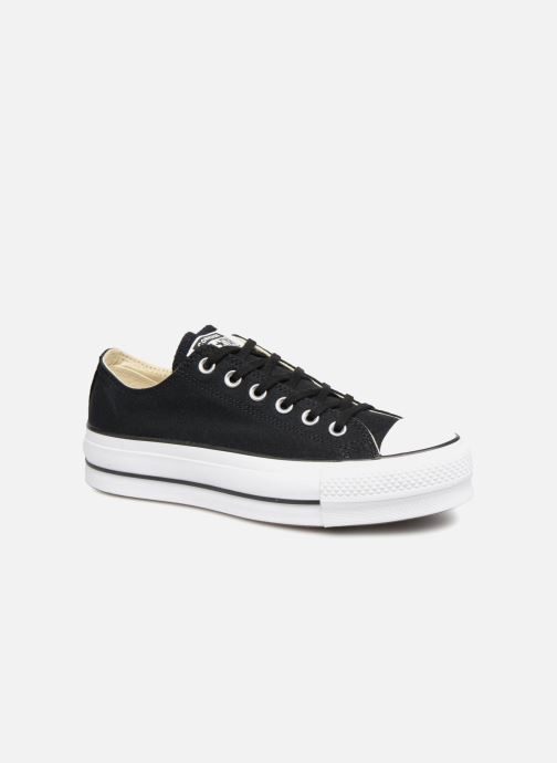 Trainers Converse Chuck Taylor Lift Ox Black detailed view/ Pair view