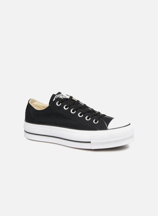 Sneaker Converse Chuck Taylor Lift Ox schwarz detaillierte ansicht/modell