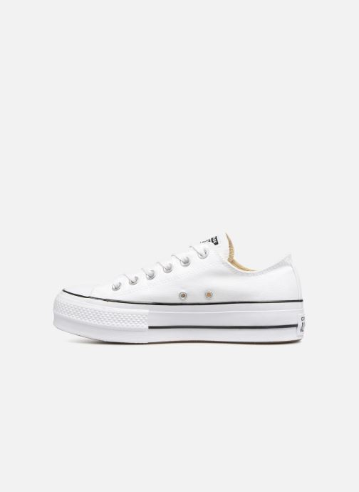 Sneakers Converse Chuck Taylor Lift Ox Bianco immagine frontale