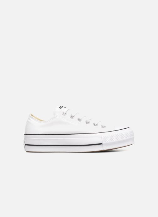 Sneakers Converse Chuck Taylor Lift Ox Wit achterkant