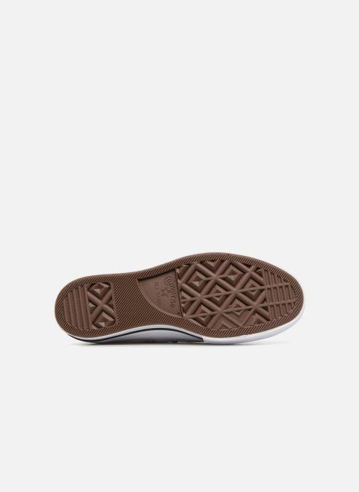 Sneaker Converse Chuck Taylor Lift Ox weiß ansicht von oben