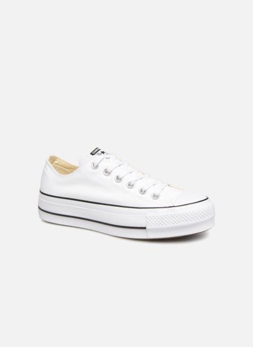 Sneaker Converse Chuck Taylor Lift Ox weiß detaillierte ansicht/modell