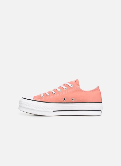 Sneakers Converse Chuck Taylor Lift Ox Rosa immagine frontale