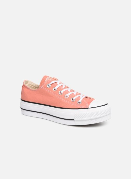 Sneakers Converse Chuck Taylor Lift Ox Rosa vedi dettaglio/paio