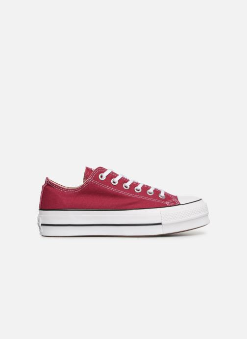 Trainers Converse Chuck Taylor Lift Ox Burgundy back view