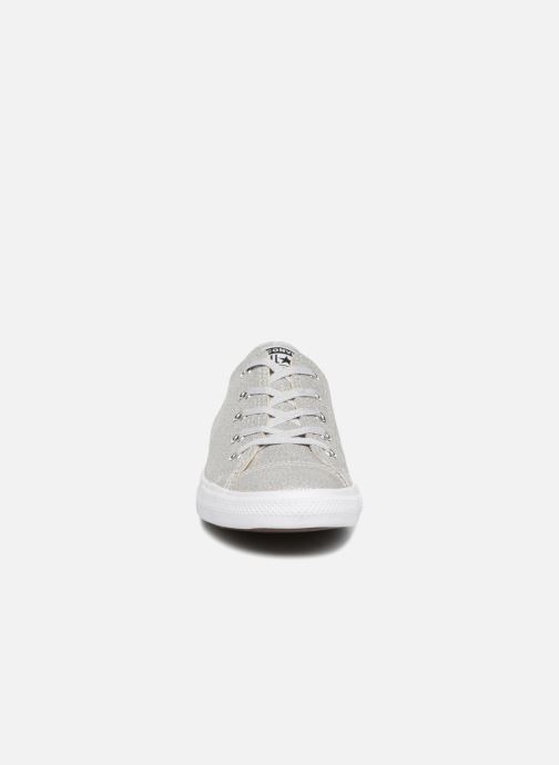 Trainers Converse Chuck Taylor Dainty Ox Grey model view