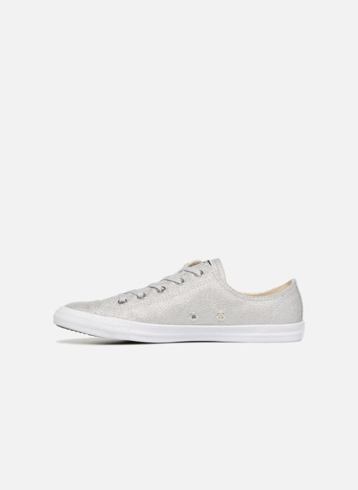 Trainers Converse Chuck Taylor Dainty Ox Grey front view