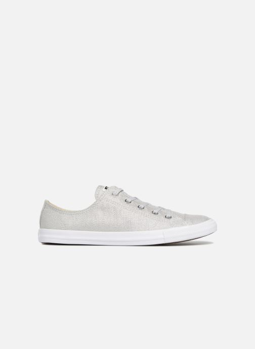 Trainers Converse Chuck Taylor Dainty Ox Grey back view