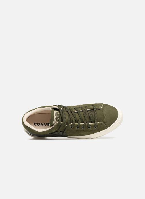 Sneaker Converse Chuck Taylor Becca Ox grün ansicht von links