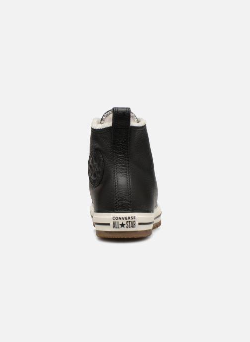 Sneakers Converse Chuck Taylor Hiker Boot Hi Zwart rechts
