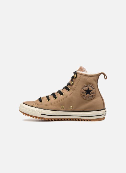 Baskets Converse Chuck Taylor Hiker Boot Hi Marron vue face