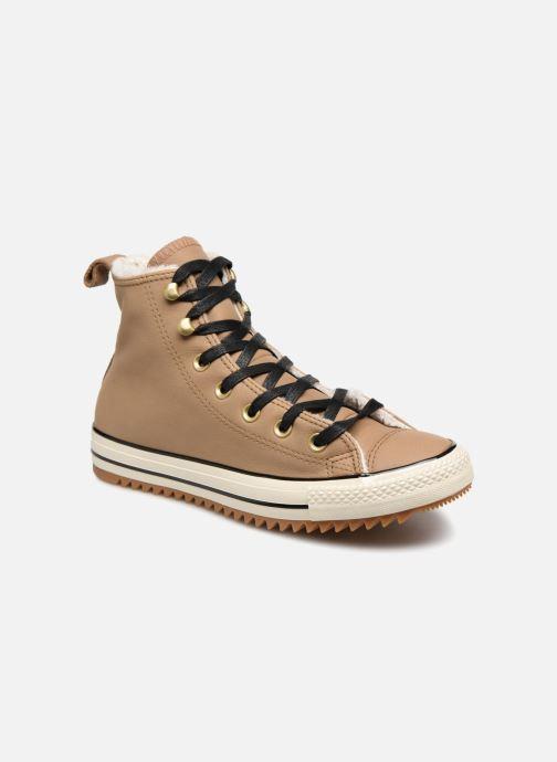 Baskets Converse Chuck Taylor Hiker Boot Hi Marron vue détail/paire