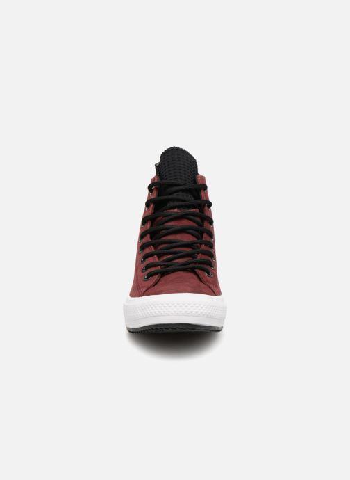 Sneaker Converse Chuck Taylor Wp Boot Hi weinrot schuhe getragen