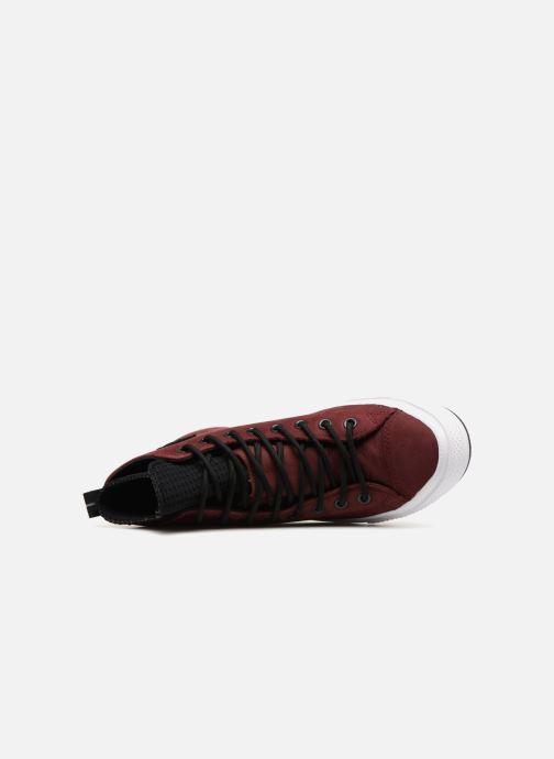 Sneaker Converse Chuck Taylor Wp Boot Hi weinrot ansicht von links