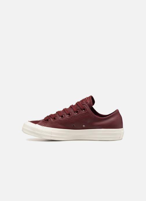 Trainers Converse Chuck Taylor Ox  W Burgundy front view
