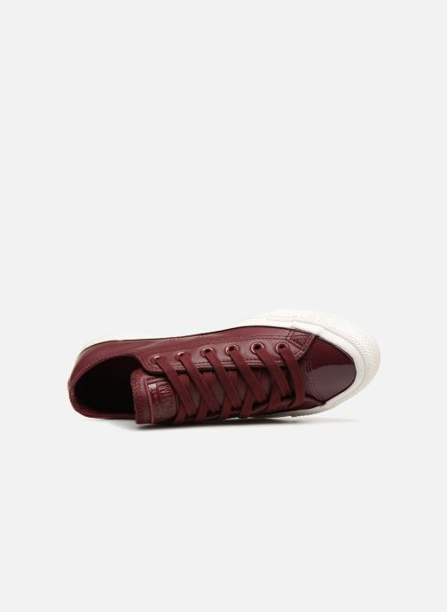 Trainers Converse Chuck Taylor Ox  W Burgundy view from the left