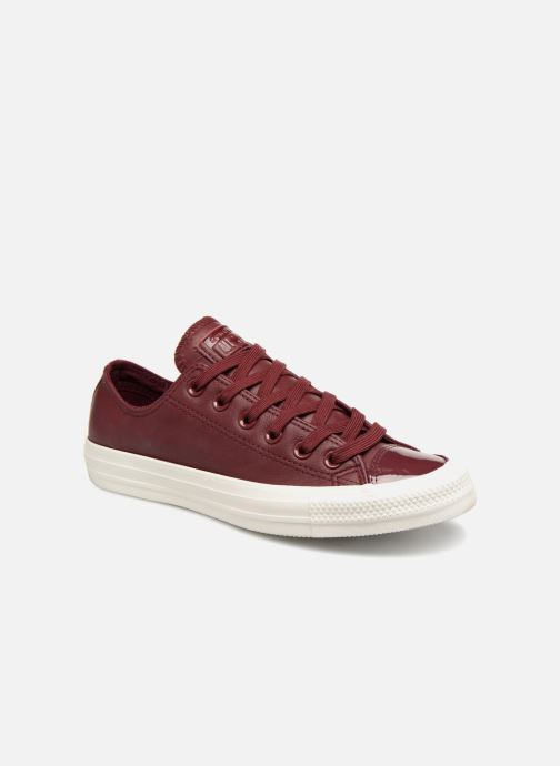 Trainers Converse Chuck Taylor Ox  W Burgundy detailed view/ Pair view