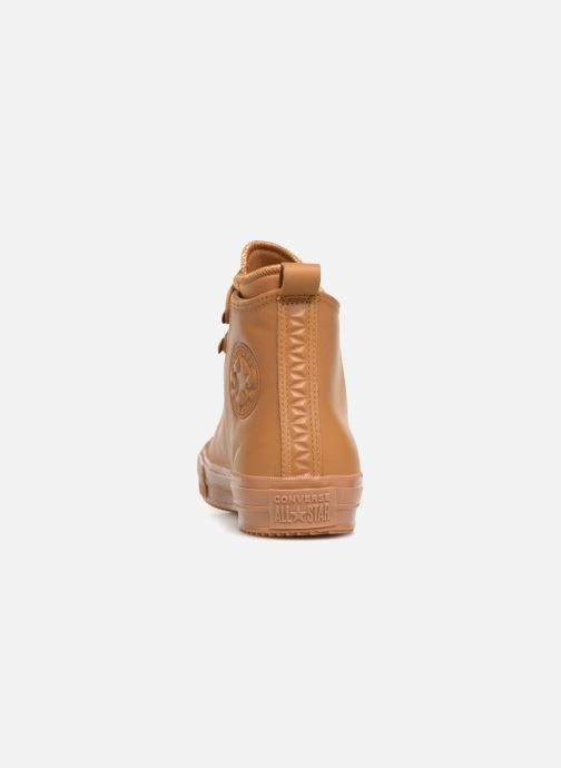Trainers Converse Chuck Taylor Wp Boot Hi Brown view from the right