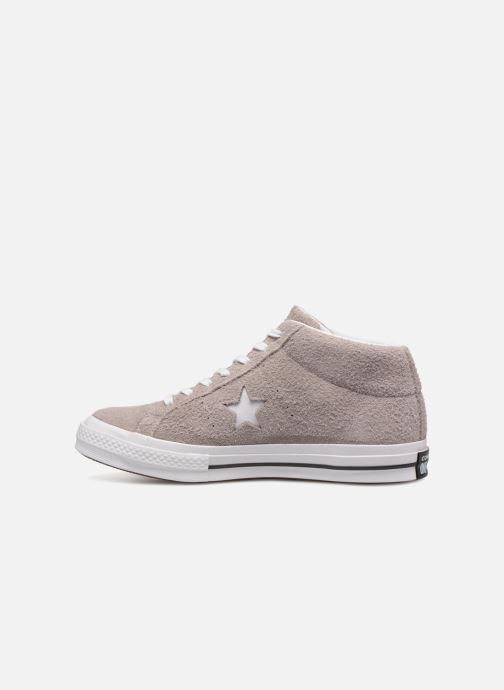 Baskets Converse One Star Mid Marron vue face