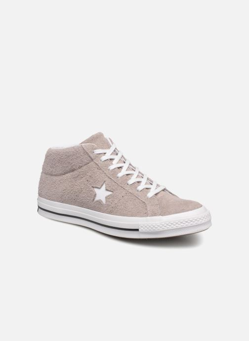 Trainers Converse One Star Mid Brown detailed view/ Pair view