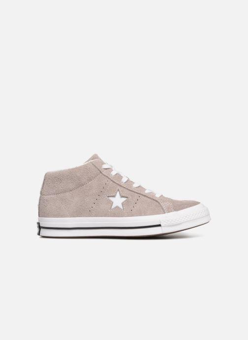 Sneaker Converse One Star Mid W grau ansicht von hinten