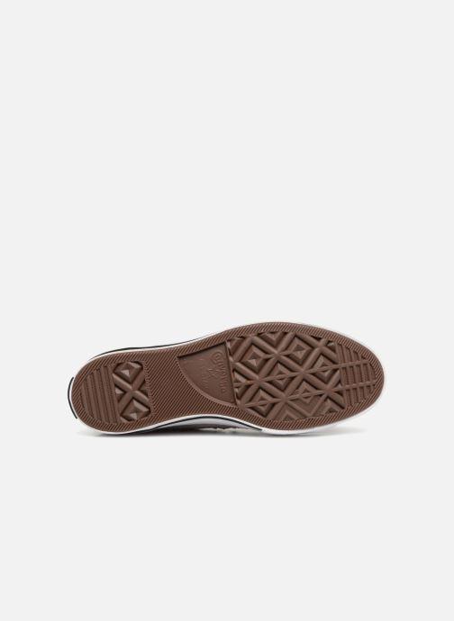 Sneaker Converse One Star Mid W grau ansicht von oben