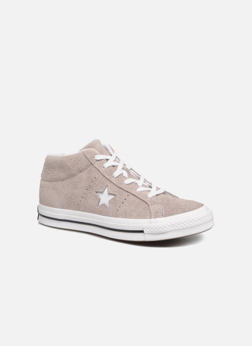 Sneaker Converse One Star Mid W grau detaillierte ansicht/modell
