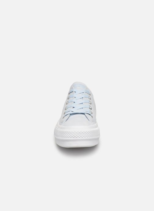 Trainers Converse Chuck Taylor Clean Lift Ox Blue model view