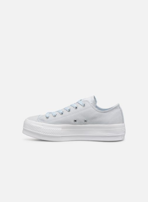 Trainers Converse Chuck Taylor Clean Lift Ox Blue front view