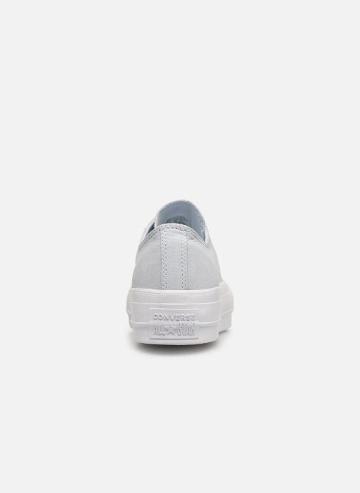Taylor 340550 Sneakers Converse Clean azzurro Lift Ox Chuck Chez 5na8qw7Wf