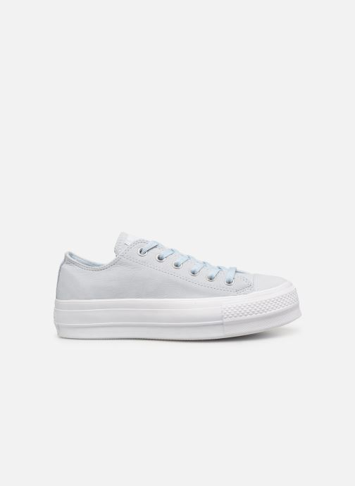 Trainers Converse Chuck Taylor Clean Lift Ox Blue back view