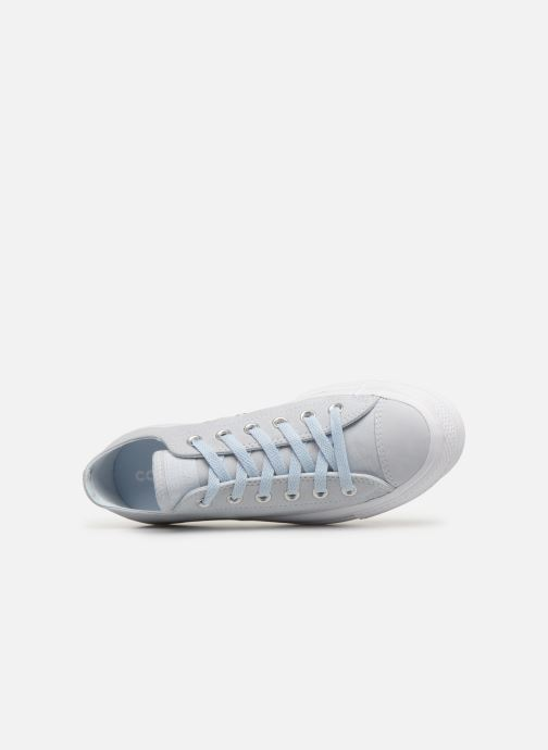 Trainers Converse Chuck Taylor Clean Lift Ox Blue view from the left