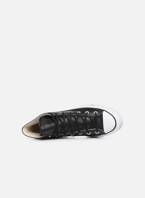 Sneakers Converse Chuck Taylor Lift Clean Hi Nero immagine sinistra