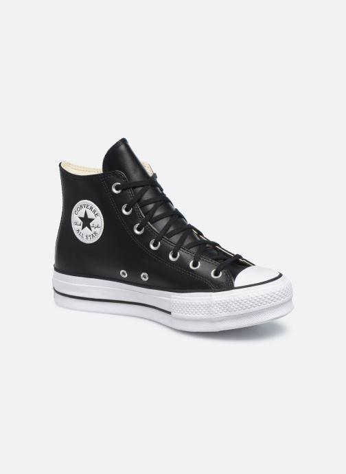 Sneaker Converse Chuck Taylor Lift Clean Hi schwarz detaillierte ansicht/modell