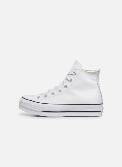 Baskets Converse Chuck Taylor Lift Clean Hi Blanc vue face