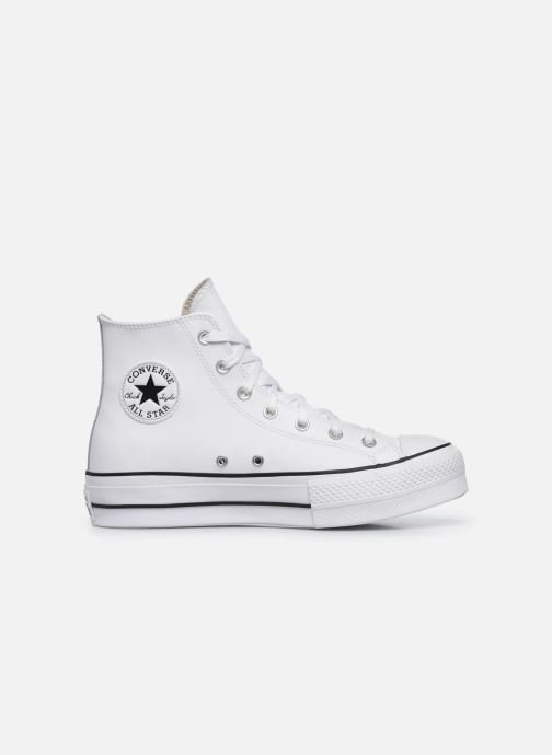 Sneakers Converse Chuck Taylor Lift Clean Hi Wit achterkant