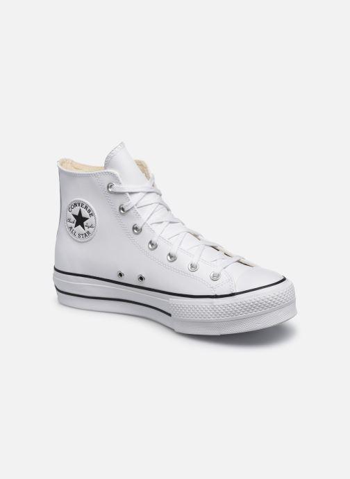 Sneaker Converse Chuck Taylor Lift Clean Hi weiß detaillierte ansicht/modell