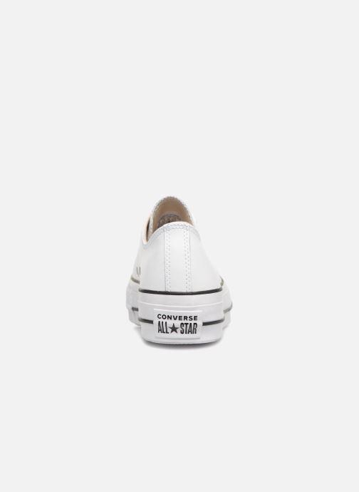 Baskets Converse Chuck Taylor Lift Clean Ox Blanc vue droite
