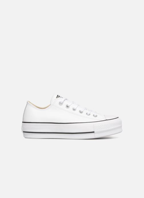 Sneakers Converse Chuck Taylor Lift Clean Ox Bianco immagine posteriore