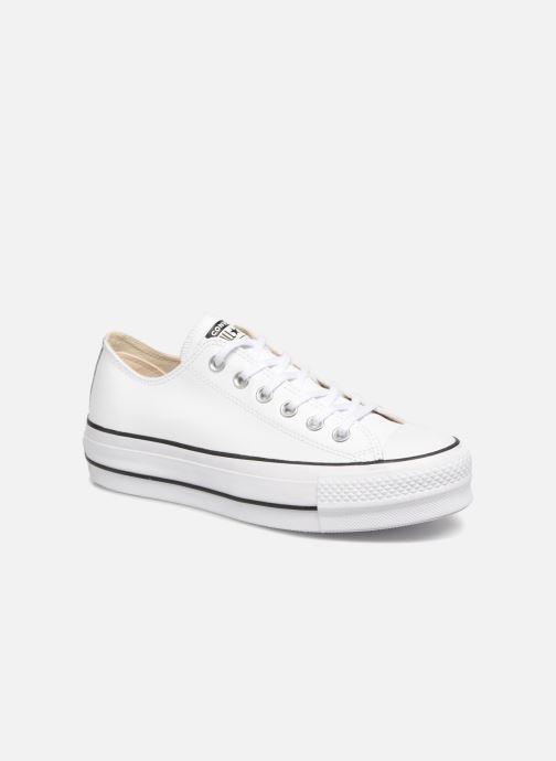 Sneakers Converse Chuck Taylor Lift Clean Ox Bianco vedi dettaglio/paio