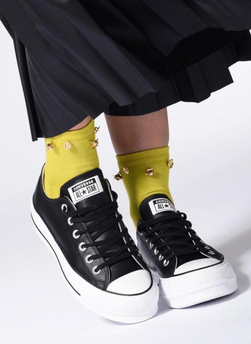 Sneakers Converse Chuck Taylor Lift Clean Ox Zwart onder