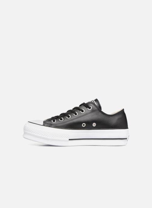Sneakers Converse Chuck Taylor Lift Clean Ox Zwart voorkant