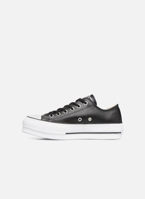 Sneakers Converse Chuck Taylor Lift Clean Ox Nero immagine frontale