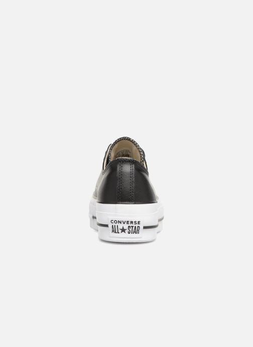 Sneakers Converse Chuck Taylor Lift Clean Ox Zwart rechts