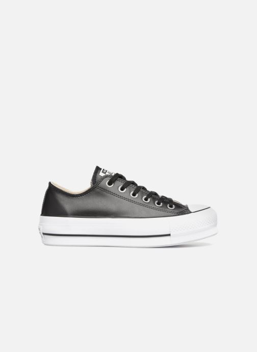 Sneakers Converse Chuck Taylor Lift Clean Ox Zwart achterkant