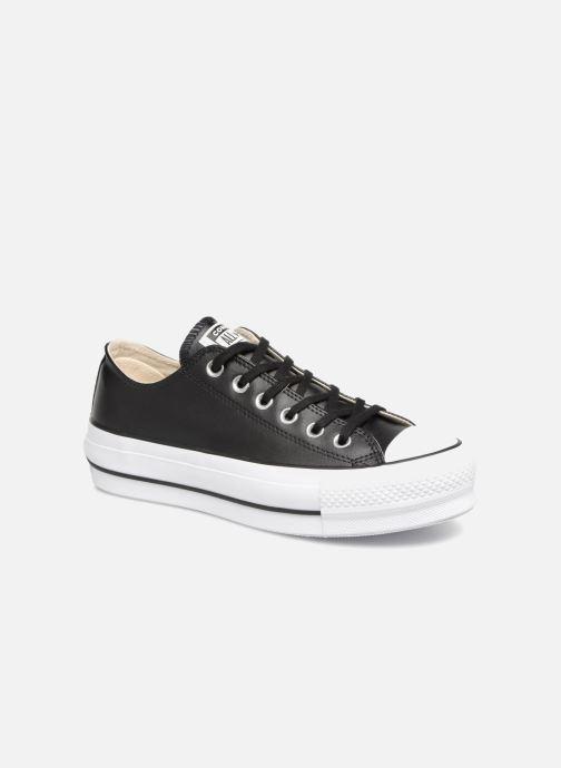 Sneakers Converse Chuck Taylor Lift Clean Ox Zwart detail